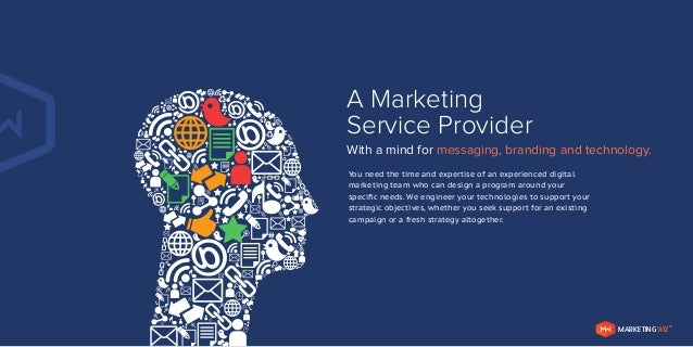 2014 Marketing Service Provider Brochure – Marketing Brochure