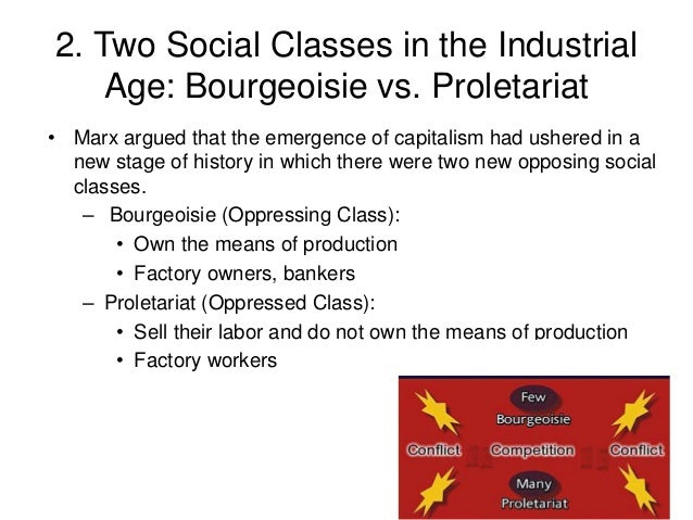 bourgeoisie and proletariat