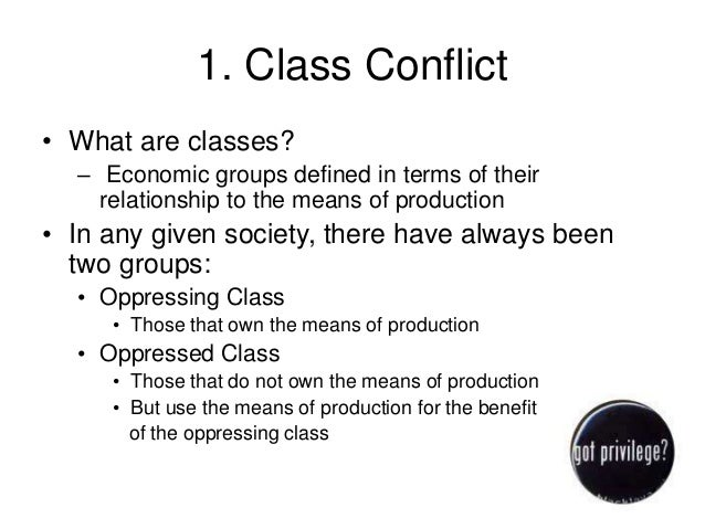 marxism and class conflict