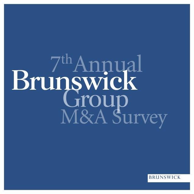 M&A Survey 7th Annual