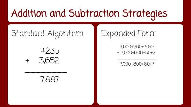 3rd Grade Math Strategies