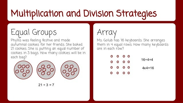 3rd Grade Math Strategies