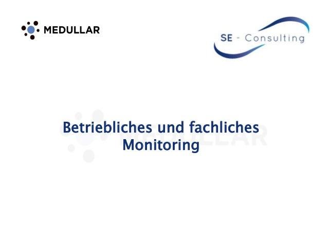 Betriebliches und fachliches Monitoring