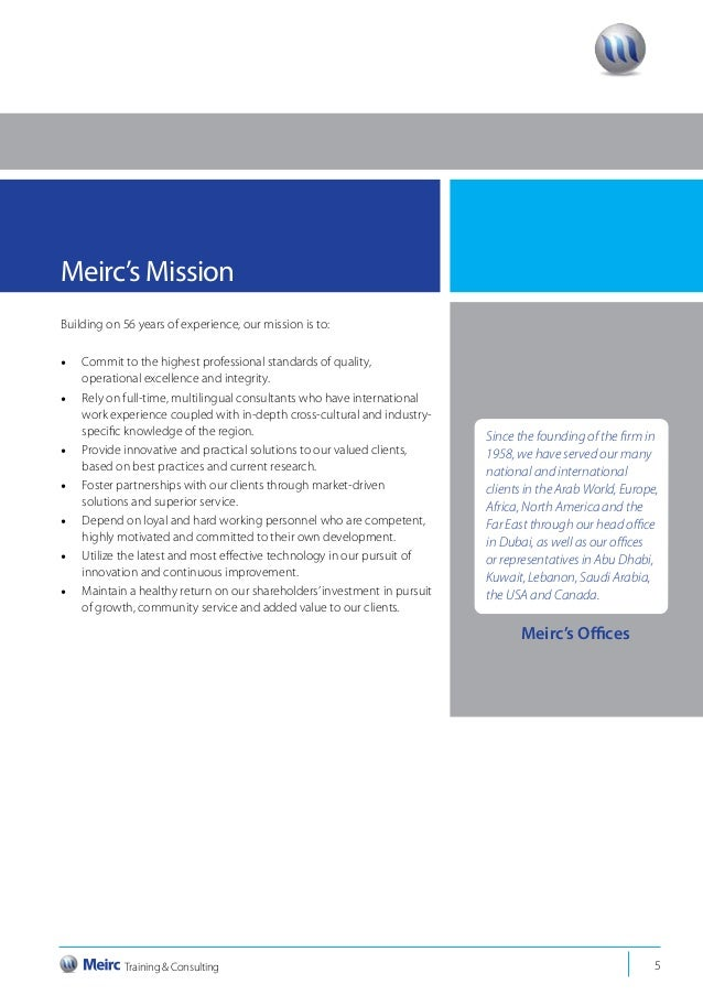 Meirc 2014 directory