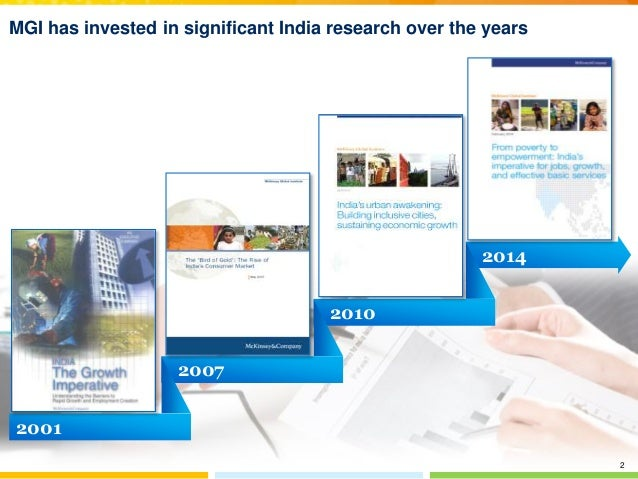 MGI: From poverty to empowerment: India's imperative for jobs, growth, and effective basic services Slide 3