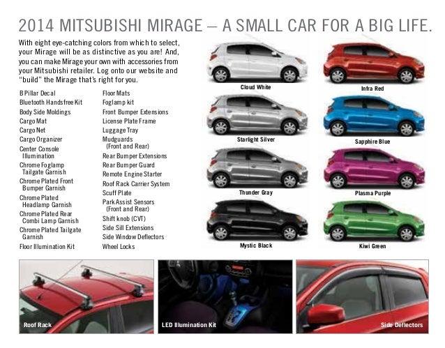 B Pillar Decal Mitsubishi Mirage