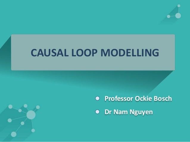CAUSAL LOOP MODELLING  Professor Ockie Bosch  Dr Nam Nguyen