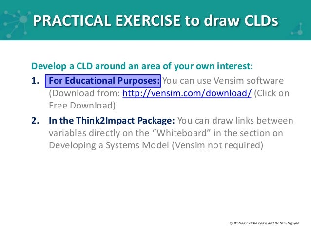 module 2 causal loop modelling - Causal Loop Diagram Software Free Download