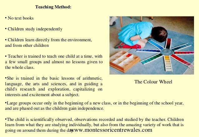 Montessori Method Pdf