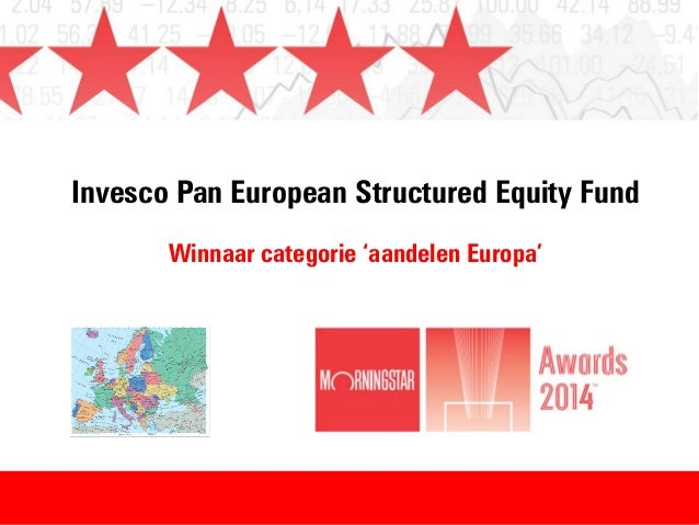 Invesco Pan European Structured Equity Fund Winnaar categorie 'aandelen Europa'