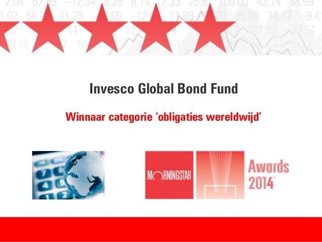 Invesco Global Bond Fund Winnaar categorie 'obligaties wereldwijd'
