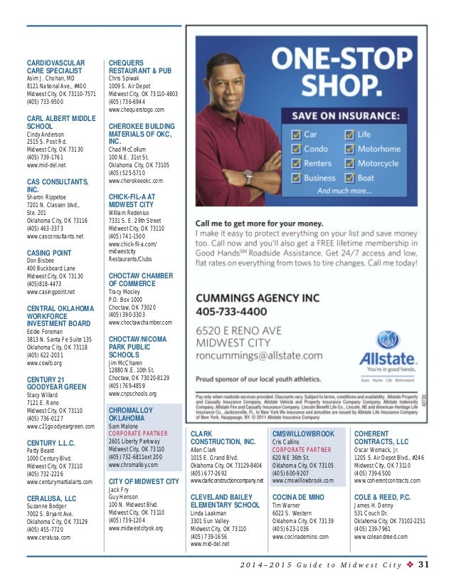 Joe Cooper Ford Midwest City >> 2014 Midwest City Chamber Guide