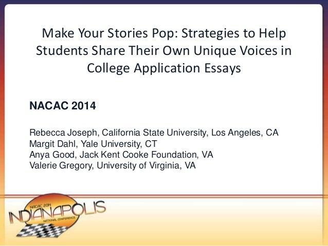 nacac student essay contest 2013
