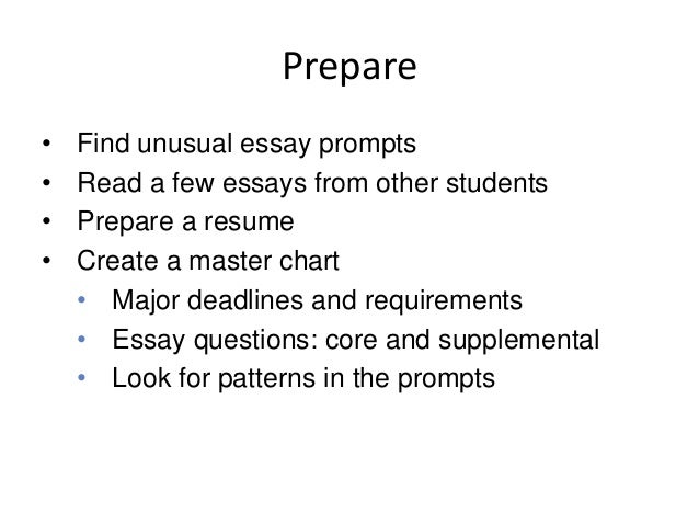 scholarship essay ideas