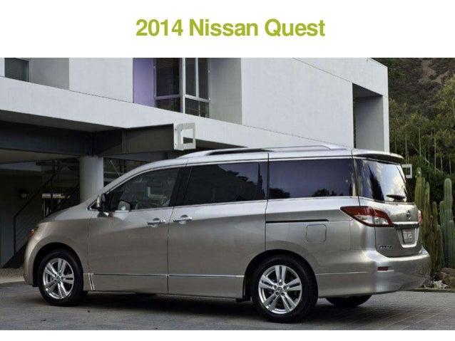 3. 2014 Nissan Quest ...