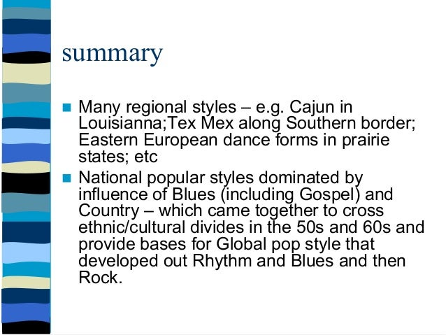 an analysis of ethnic music of north america Importantly, this review provides an analysis of  however, since ethnic food  the commerce and industries of the pacific coast of north america.
