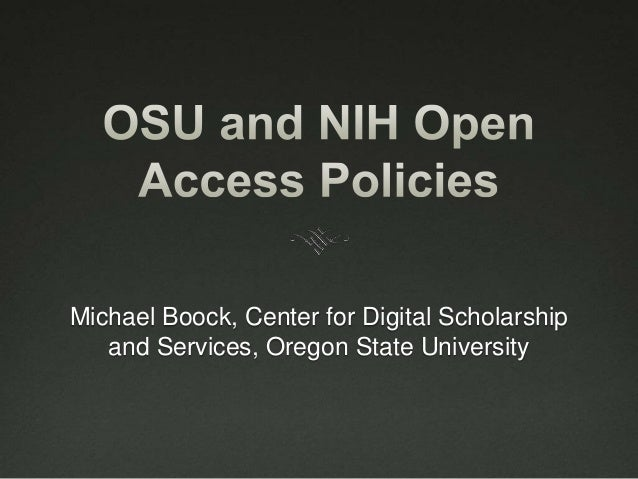Michael Boock, Center for Digital Scholarship and Services, Oregon State University