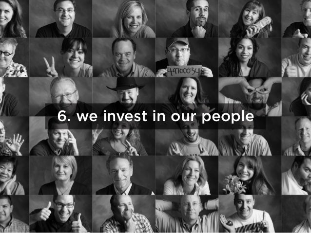 6. we invest in our people