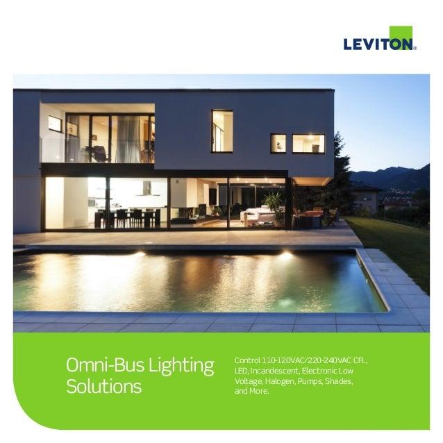 Leviton Omnibus Lighting System