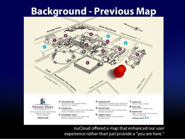 Launching Mount Mary Universitys Interactive Campus Map