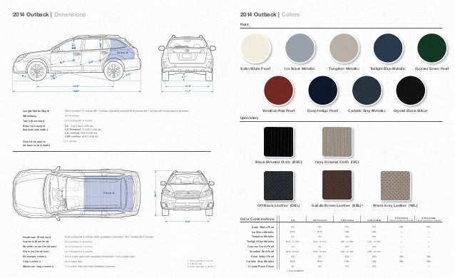 Subaru Outback Dimensions >> 2012 Subaru Outback Trunk Dimensions Subaru Cars Review