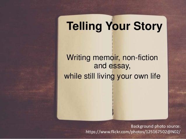 non fiction essay skabelon