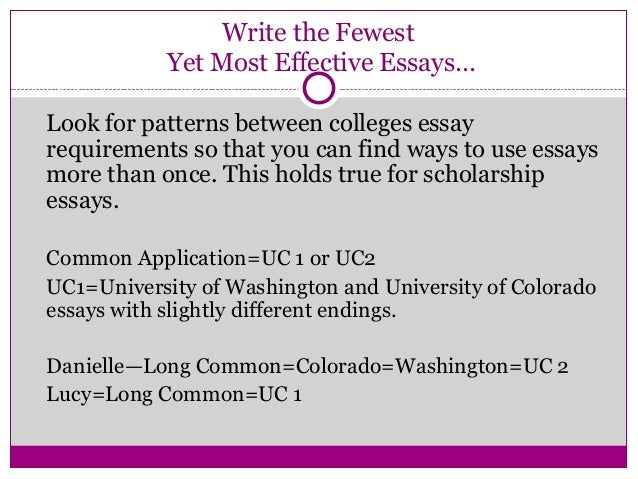 college essay requirements 2014 Essay #1 (required for all  describe the unique qualities that attract you to the specific undergraduate college or school to which you are applying at the.