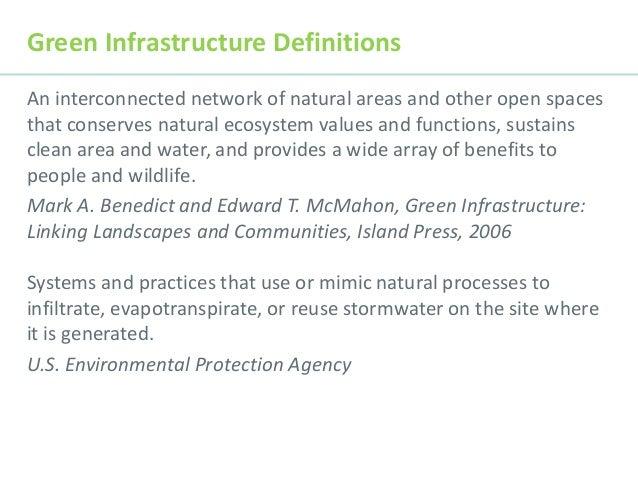 Green Infrastructure 101 - DR Slide 2