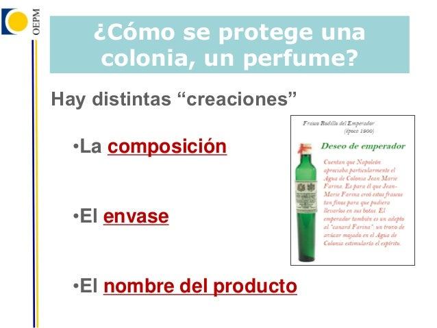 composicion de un perfume