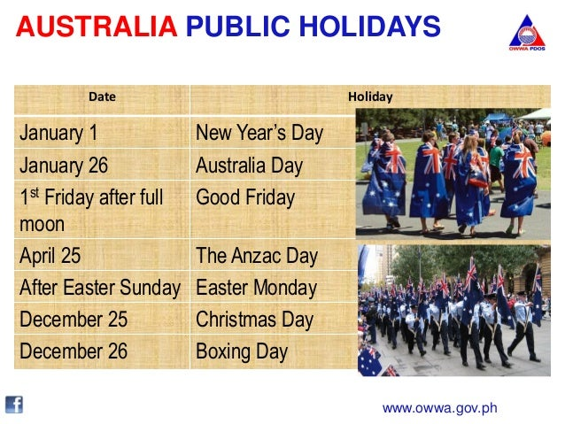 is australia day a public holiday - photo #9