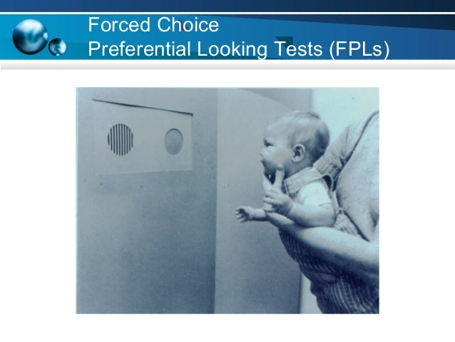 Forced Choice Preferential Looking Tests (FPLs)