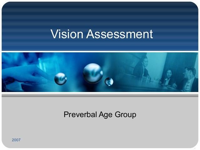 2014 Basic Pediatric Vision Examination Slide 2