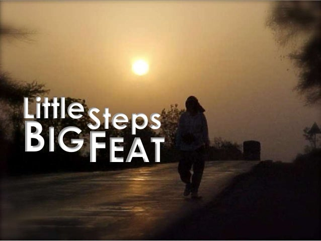 Little BIG Steps FEAT