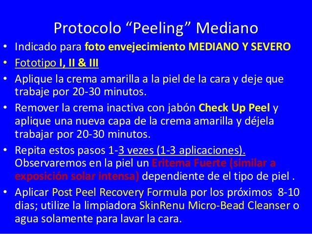 Tratamiento Professional  Fototipo IV  Yellow  Peel  1-4 Tratamientos  1-4 Meses  Arrugas  Superficiales  Envejecimiento  ...
