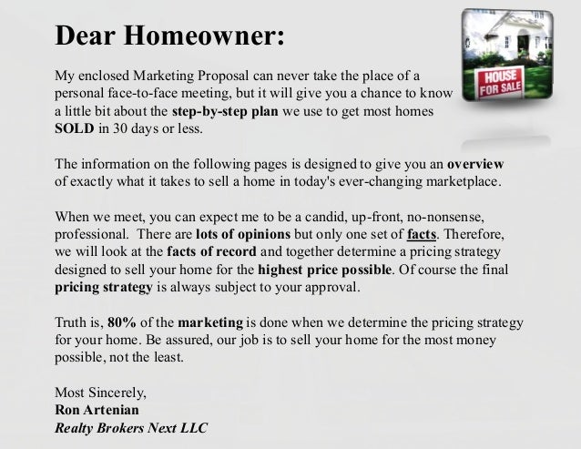 pre listing package cover letter canre klonec co