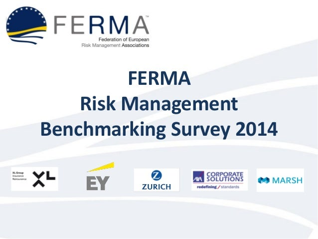 FERMA Risk Management Benchmarking Survey 2014