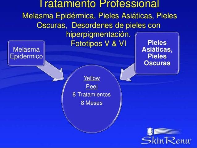 YELLOW PEEL Protocolo  Superficial  • Indicado para Hiperpigmentación Inicial, Pieles Sensibles.  • Fototipo IV & V  • Apl...