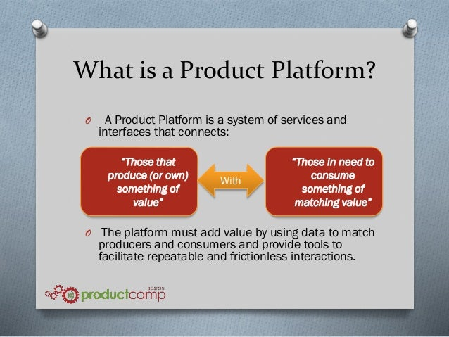 managing product platforms best practices for creating