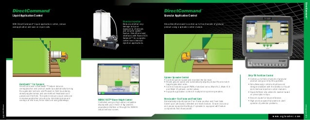 Ag leader 2014 product catalog directcommand complete application control 11 publicscrutiny Gallery