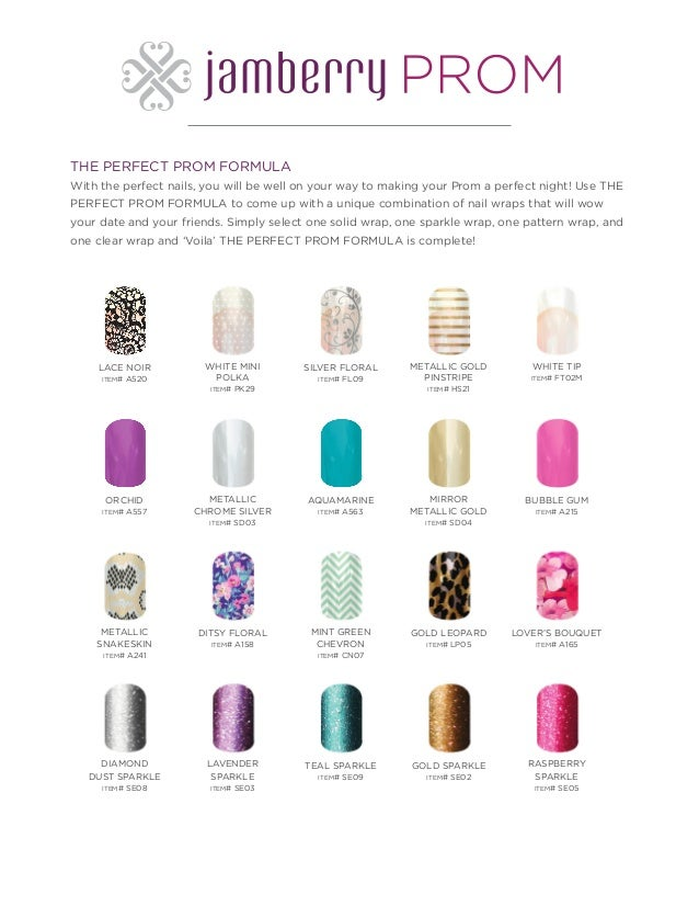 Prom Perfect - Jamberry Nails for Any Festive Occasion
