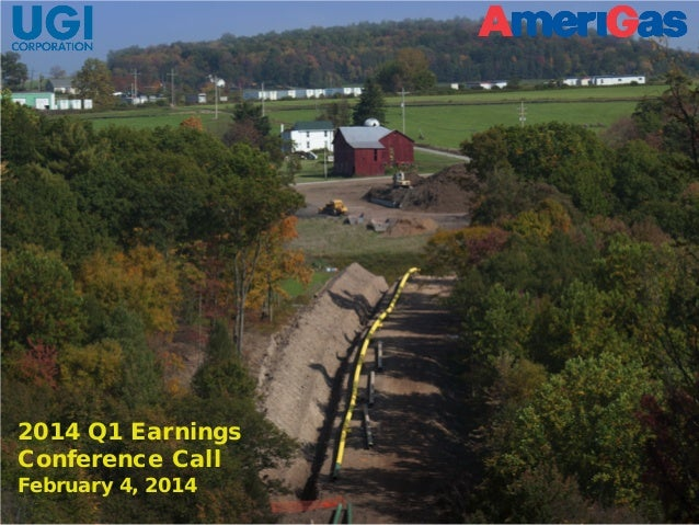 2014 Q1 Earnings Conference Call February 4, 2014  February 4, 2014