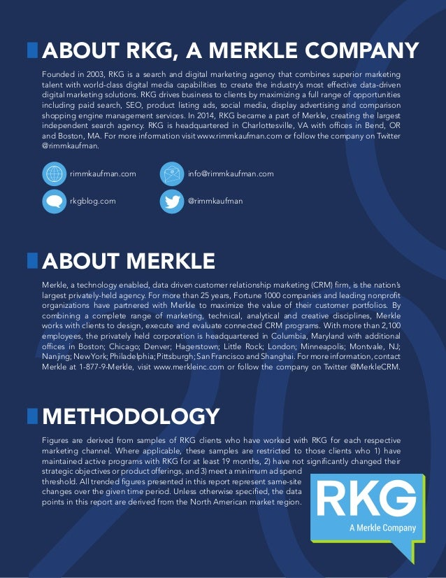 Founded in 2003, RKG is a search and digital marketing agency that combines superior marketing talent with world-class dig...