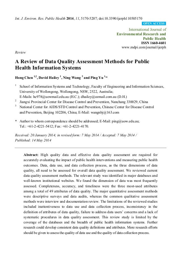 Int. J. Environ. Res. Public Health 2014, 11, 5170-5207; doi:10.3390/ijerph110505170 International Journal of Environmenta...