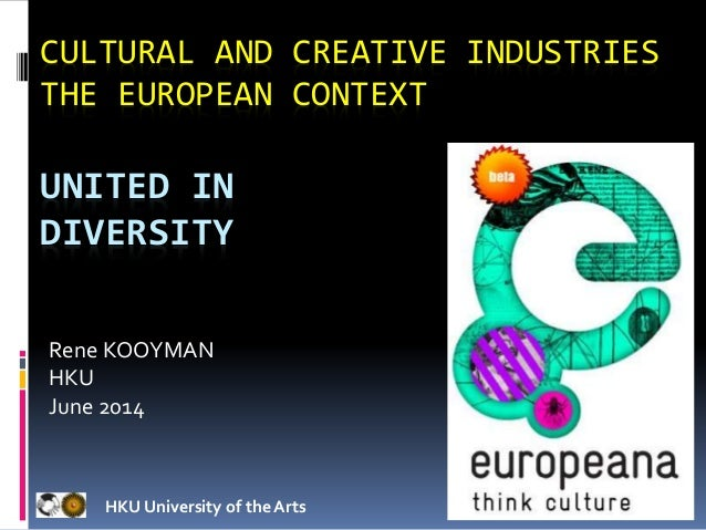 Cultural industries and cultural policy andy