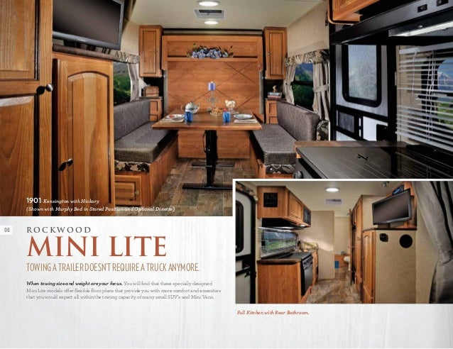 Forest River Rockwood Mini Lite Ultra Roo Travel Traile