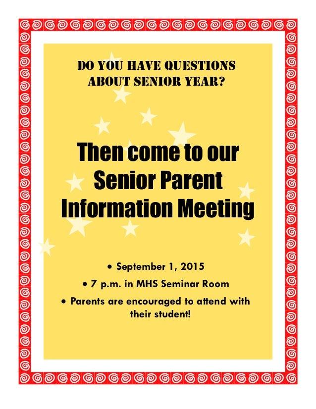 2015 senior inforamtion meeting flyer