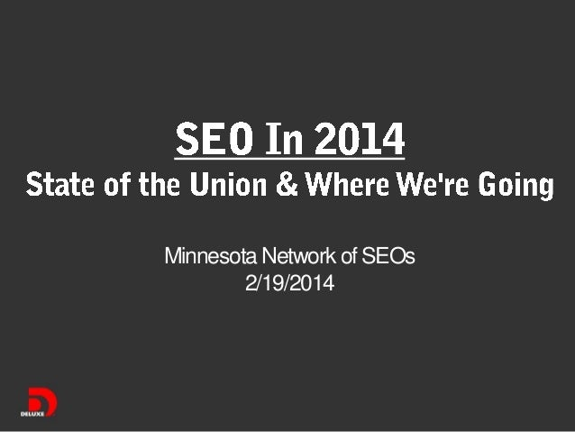 Minnesota Network of SEOs 2/19/2014