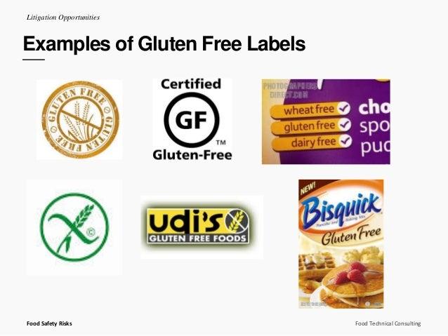 Examples Of Gluten Free Foods