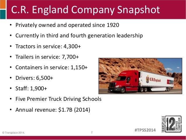 cr england premier truck driving school
