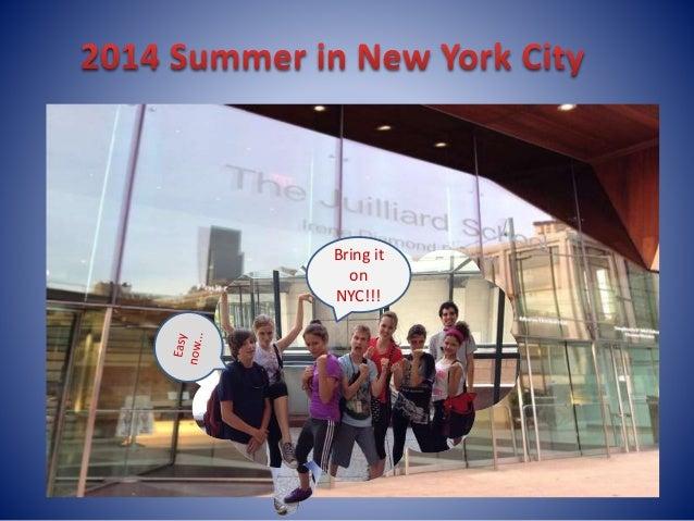 Bring it  on  NYC!!!